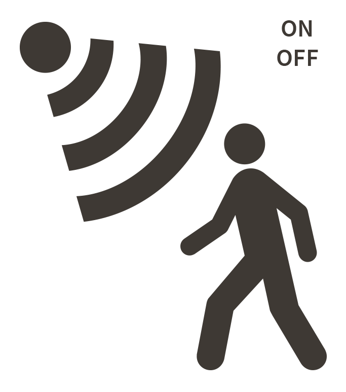 lighting sensor switch symbols